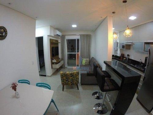 Imagem 1 de 12 de Apartamento Com 2 Dormitórios À Venda, 56 M² Por R$ 302.000,00 - Jardim Ipê - Hortolândia/sp - Ap0278