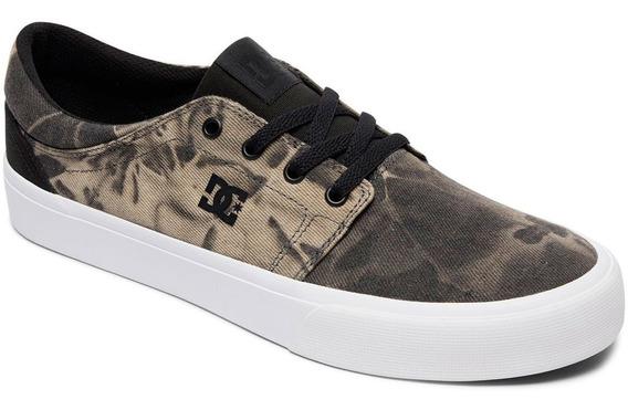 Dc Shoes Trase Tx Se Black Destroy Wash