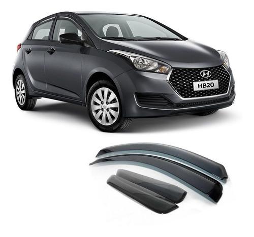 Defletor De Chuva Hyundai Hb20 2012 A 2019 Calha 4 Portas