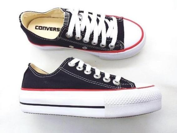 Tênis Converse All Star Chuck Taylor As Plataform Ox Branco