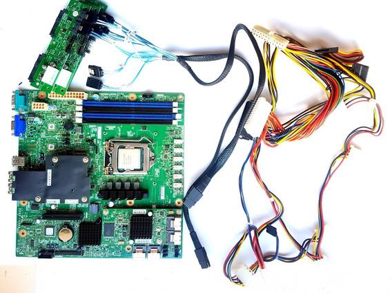 Placa Mãe Servidor Intel C236 + Xeon E3-1270v5 Ddr4 + Cabos