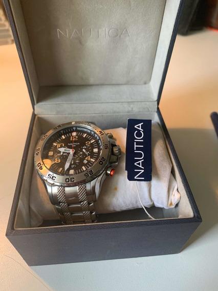 Relógio Cronógrafo Nautica Diâmetro Caixa 45 Mm