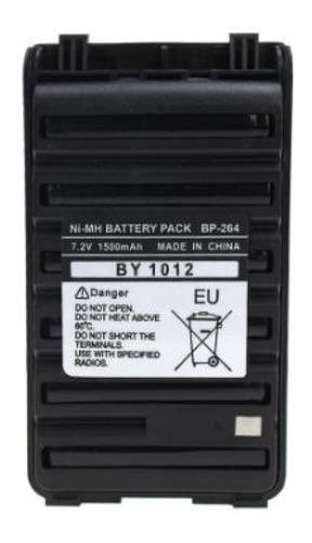 Batería Icom Bp-264 Ni-mh/1400 Mah Para Radio Icv-80