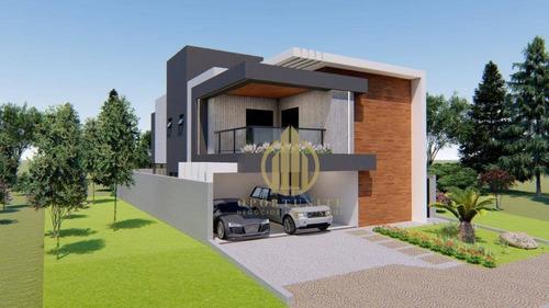 Imagem 1 de 3 de Casa Com 4 Suítes À Venda, 298 M² Por R$ 1.350.000 - Quinta Da Primavera - Ribeirão Preto/sp - Ca1340