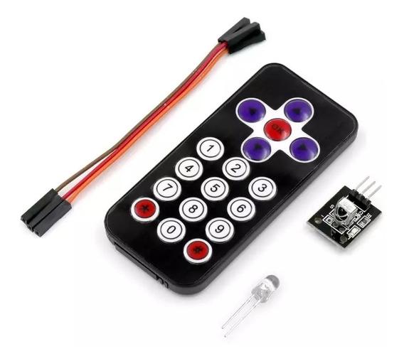 2x Controle Remoto Ir Receiver Hx1838 Arduino Infravermelho