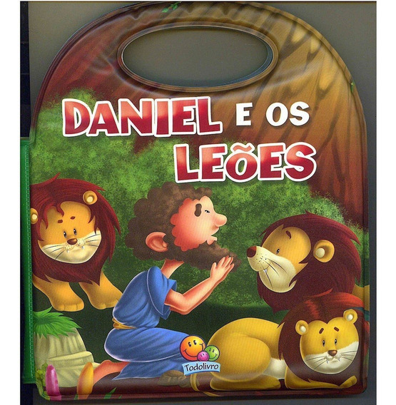 Livro Aquático - Daniel E Os Leões