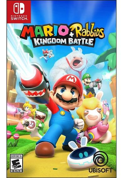 Mario + Rabbids Kingdom Battle Switch Mídia Física Lacrado