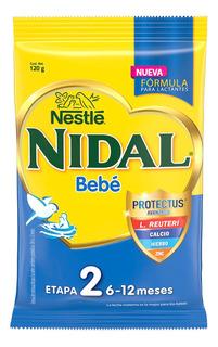 Leche Nidal 2, Lata 350gr Para Bebe Niño Y Niña