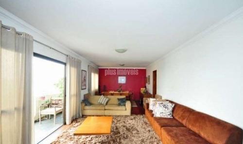 Amplo Apartamento Com 168m², 04 Dorms (01 Ste.) 03 Vagas Entre Portal Morumbi E Av. G. Gronchi - Pp10643