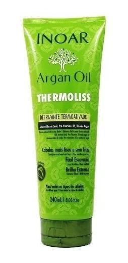 Defrizante Termoativo Thermoliss Argan Oil 240ml - Inoar