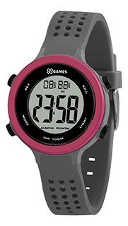 Relógio Feminino Xgames Puls Silicone 100m Ref.xfppd071-bxgx