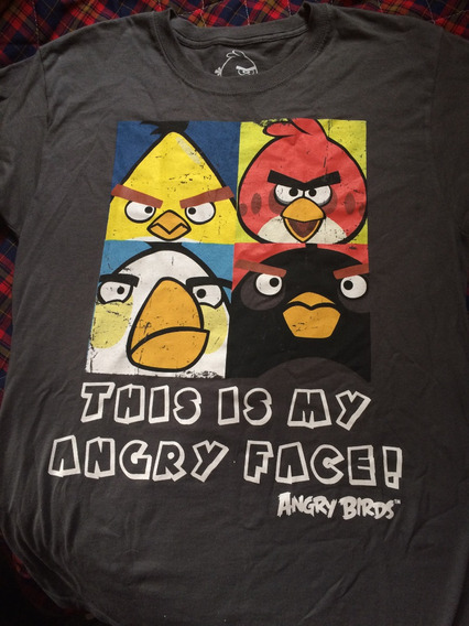 Playera Angry Birds