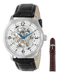 Reloj Stuhrling Original 730 Delphi Denmark Automatic Cuero