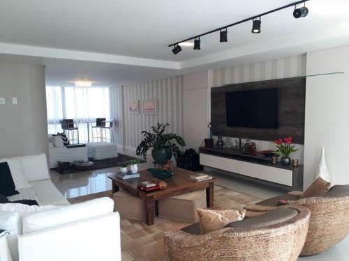 Imagem 1 de 24 de Apartamento Alto Padrão Com 4 Suítes No Centro - Ap5658
