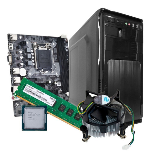 Imagen 1 de 6 de Computador Clon Core I7 4ta Gen 8gb Ram Hdd 1tb Somos Tienda