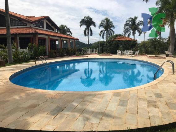 Chácara Com 3 Dormitórios À Venda, 4000 M² Por R$ 1.900.000 - Chácaras Condomínio Recanto Pássaros Ii - Jacareí/sp - Ch0007