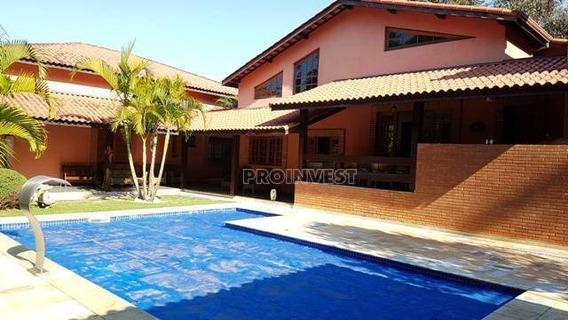 Casa Residencial À Venda, Patrimônio Do Carmo, São Roque - Ca15053. - Ca15053