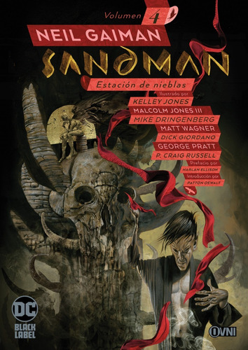 Imagen 1 de 1 de Cómic, Dc, Sandman Vol. 4: Estacion De Nieblas Ovni Press