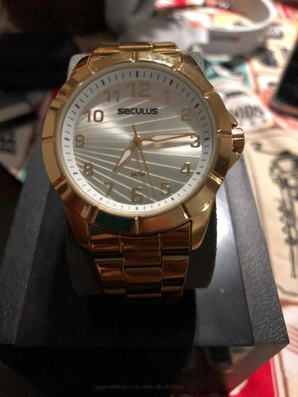 Relógio Seculus Feminino Glamour