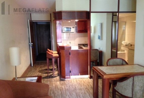 04185 - Flat 1 Dorm, Itaim Bibi - São Paulo/sp - 4185