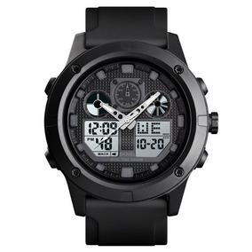 Relógio Skmei Masculino Esportivo Inédito Com Iluminação