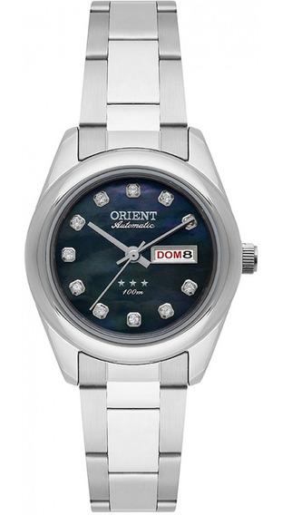 Relógio Orient Automático Feminino Prata 559ss010 P1sx