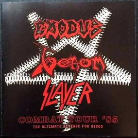 Combat Tour 85: Venom, Slayer, Exodus - Cd - Importado!