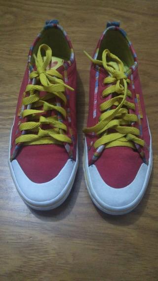 700 Tênis adidas, Vermelho