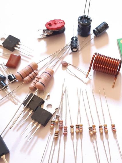 Kit Componentes P/ 02 Placas De 100w Sem As Saídas