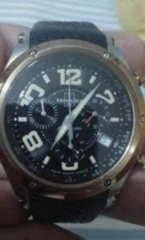 Reloj Nivada Moonmaster Cronógrafo En 4 Mil