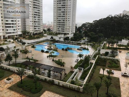 Apartamento Com 3 Dormitórios À Venda, 107 M² Por R$ 765.000,00 - Vila Lusitânia - São Bernardo Do Campo/sp - Ap0095