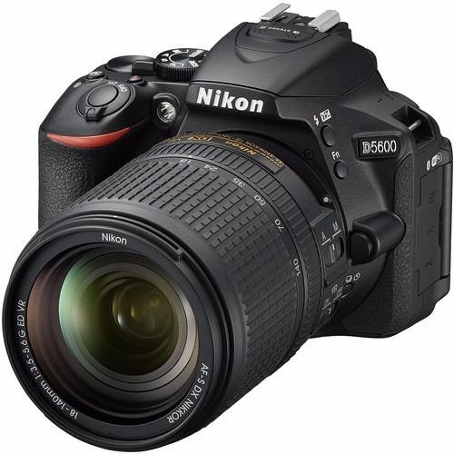 Câmera Nikon D5600 24.2mpixels C/ Obj 18-140mm