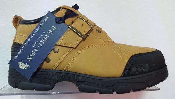 Zapatos Polo Us Clancy Color Amarilla