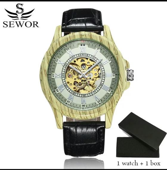 Lindo Relógio Sewor Masculino Automático