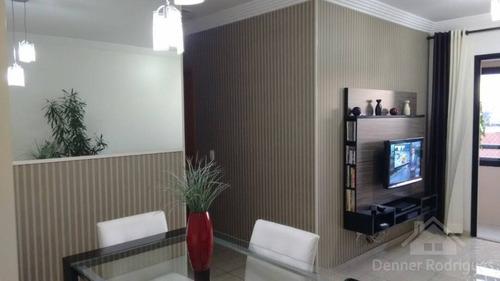 Apartamento Com 2 Dormitórios Sendo 1 Suite- 2 Vagas - Lazer Completo - Dp1748