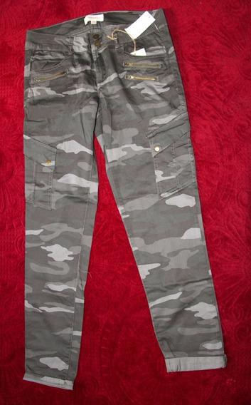Pantalón Rewind, Straight Verde Militar