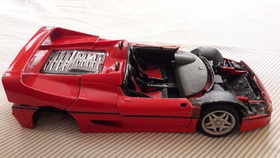 Sucata Miniatura Ferrari F50 Escala 1/18