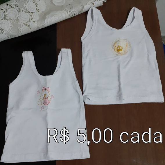 Vendo Camiseta De Bebê Menina Tam P