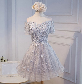 Vestido Curto Festa 15 Anos Baile Debutante/casamento Civil