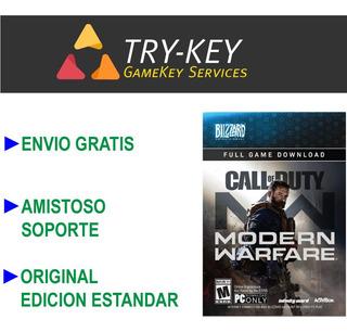 Call Of Duty Modern Warfare 2019 Pc Original Código