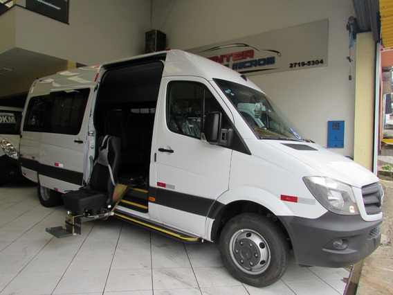 Mercedes-benz Sprinter Executiva 515 Com Acessibilidade