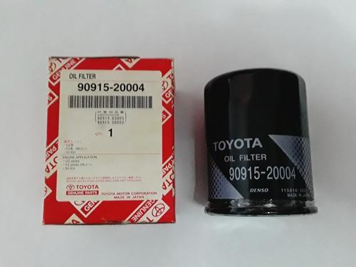 Filtro De Aceite Original Toyota Fortuner Kavak 4runner03-08