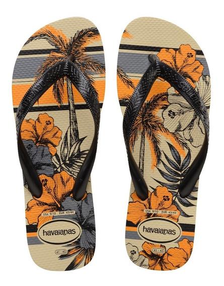 Sandálias Havaianas - Chinelo Masculino Aloha Estampado