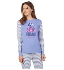 Pijama Para Dama Jane And Bleecker 2 Piezas Regalo