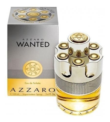 Perfume Locion Azzaro Wanted Hombre 100 - L a $1800