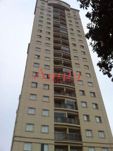 Apartamento Com 2 Dormitórios À Venda, 55 M² Por R$ 310.000,00 - Parque Jaçatuba - Santo André/sp - Ap0957