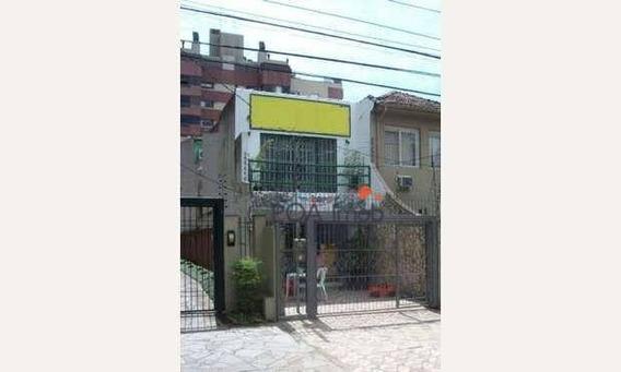 Casa Comercial No Bairro Menino Deus - Ca0195