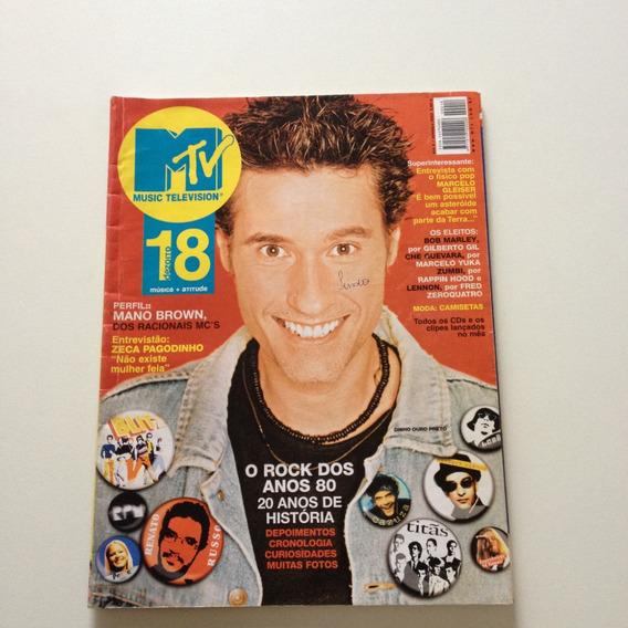 Revista Mtv Misic Television Dinho Ouro Preto Renato Cc751