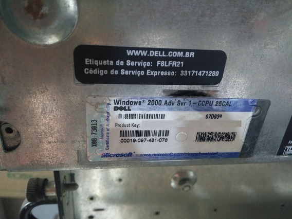 Dois Servidores Dell Poweredge 6650 E Storage Powervault 220