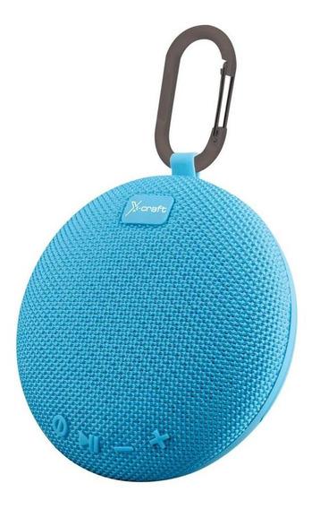 Caixa De Som Bluetooth X-craft X5 Azul 5w Resistente À Águ